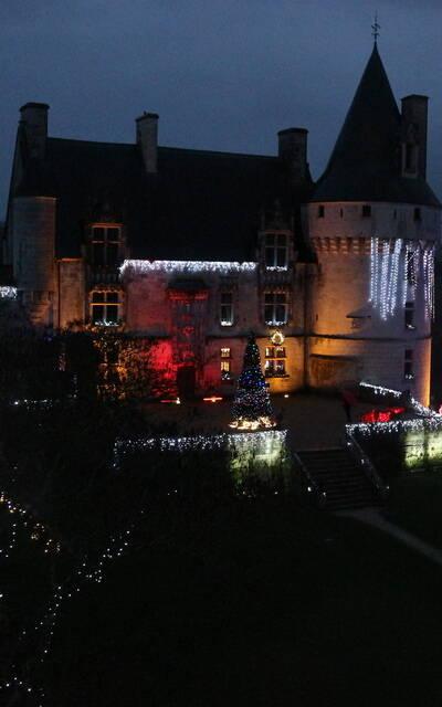 Château de Crazannes illuminé - © FDHPA 17