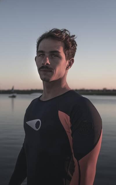 Hugo Guias, kitesurfeur professionnel - ©Hugo Guias