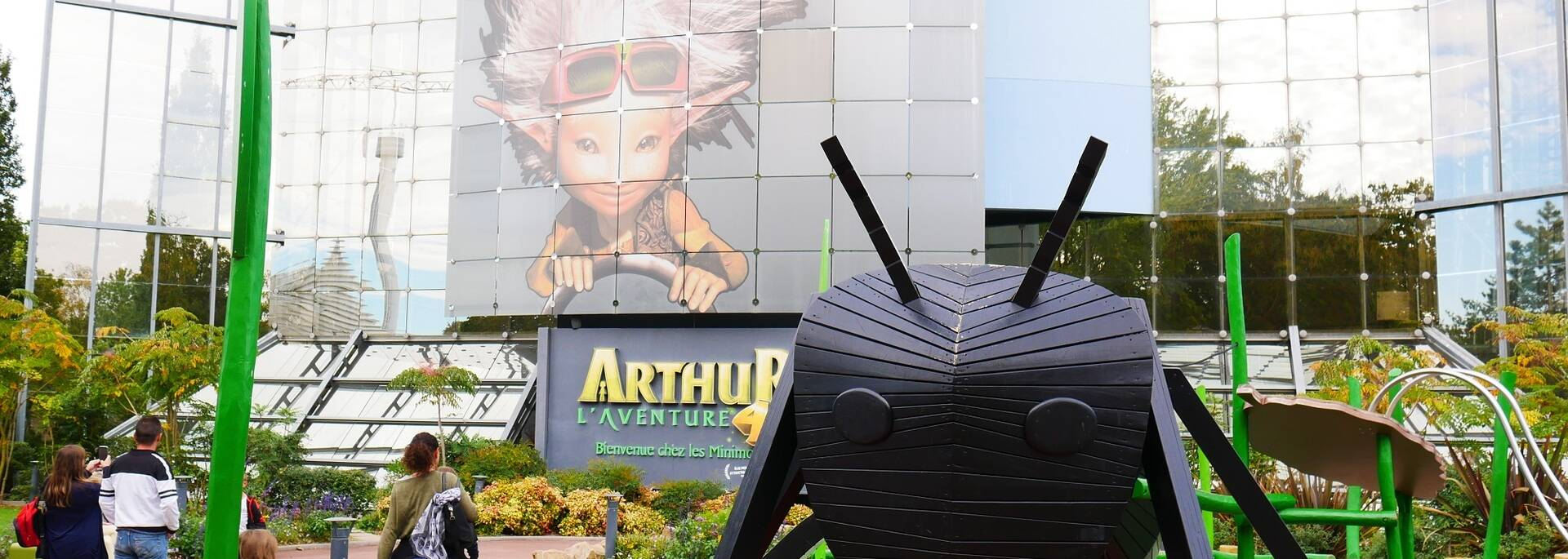 L'attraction Arthur et les Minimoys au Futuroscope - ©FDHPA17 / P.Migaud