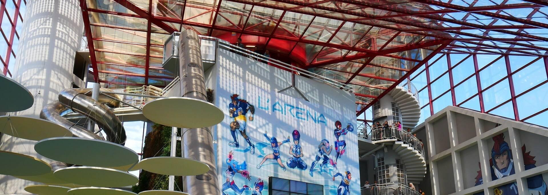 L'Arena Fun Expériences du Futuroscope - ©FDHPA17 / P.Migaud