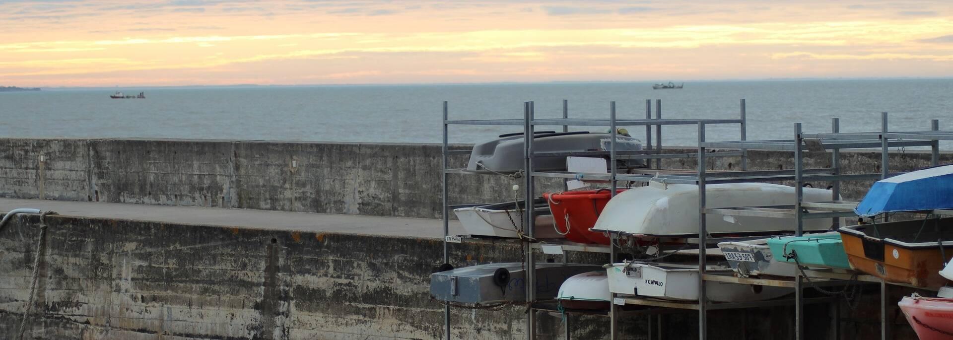 Vue du port des Boucholeurs - ©P.Migaud / FDHPA 17