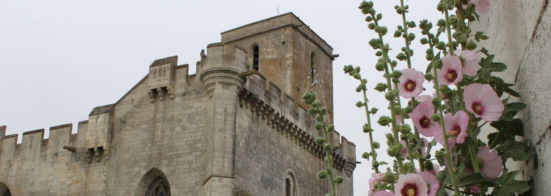 Eglise fortifiée d'Esnandes en Charente-Maritime - ©P.Migaud / FDHPA17