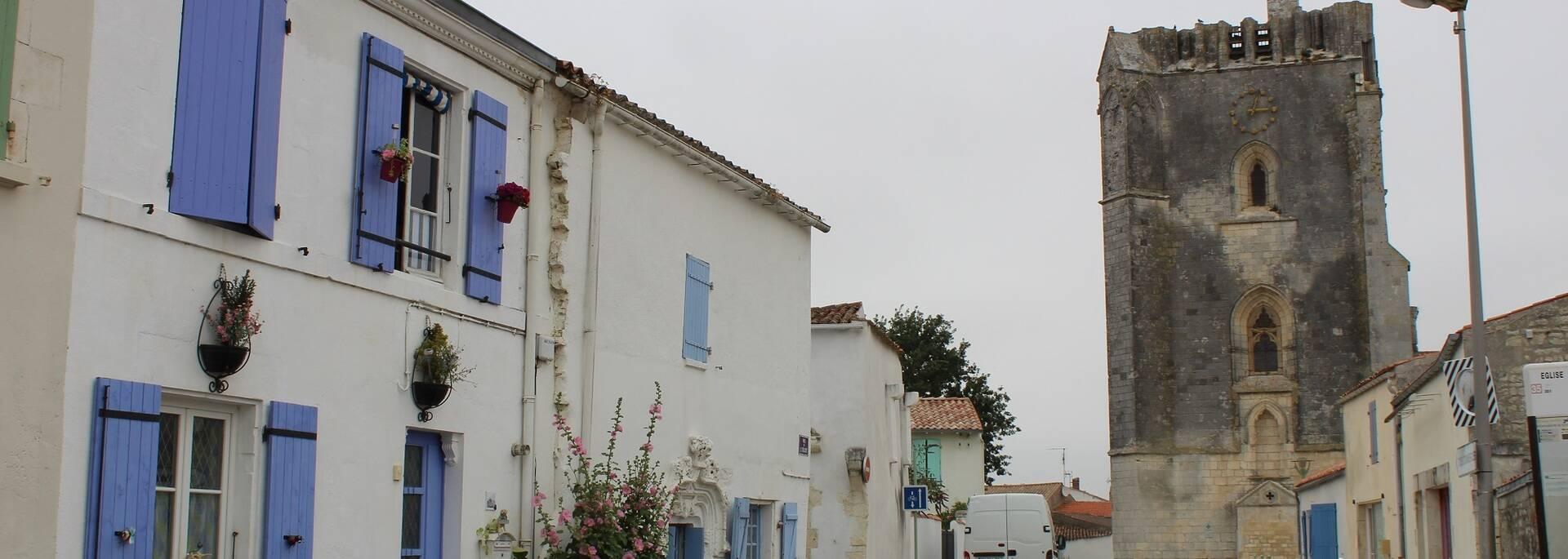 L'église de Marsilly en Charente-Maritime - ©P.Migaud / FDHPA17