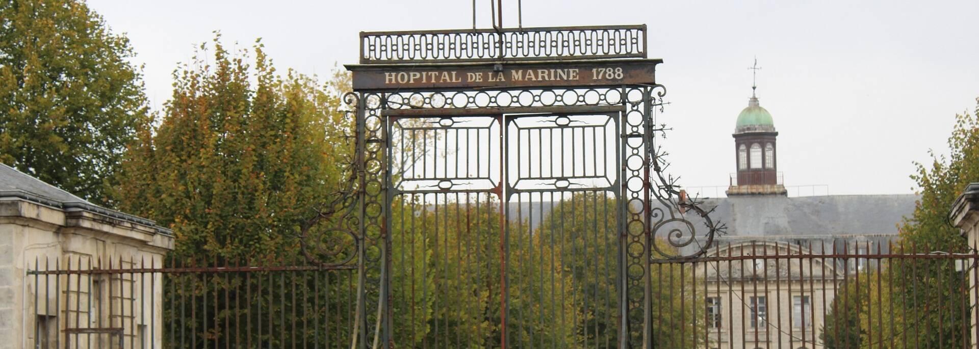 L'Hôpital de la Marine, juste à côté du musée de la médecine navale - ©P.Migaud / FDHPA 17
