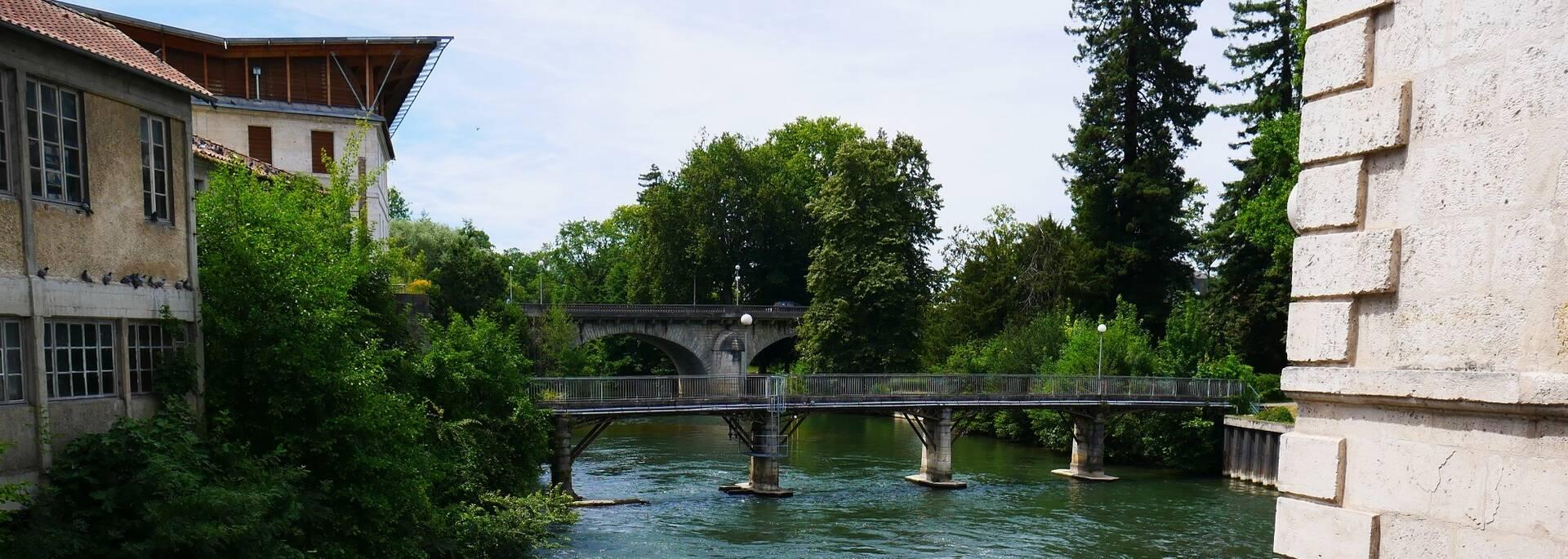 Vue sur la Charente depuis le musée du papier - ©P.Migaud / FDHPA17
