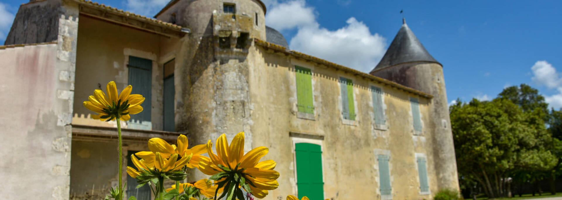 Château de Bonnemie sur l'île d'Oléron - ©Sabia's Pictures