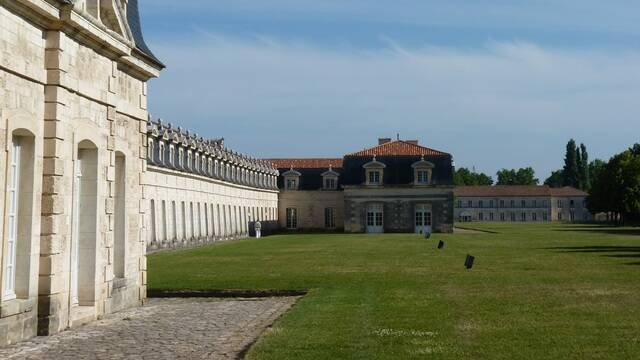 Vue de la Corderie royale de Rochefort - ©P.Migaud FDHPA17
