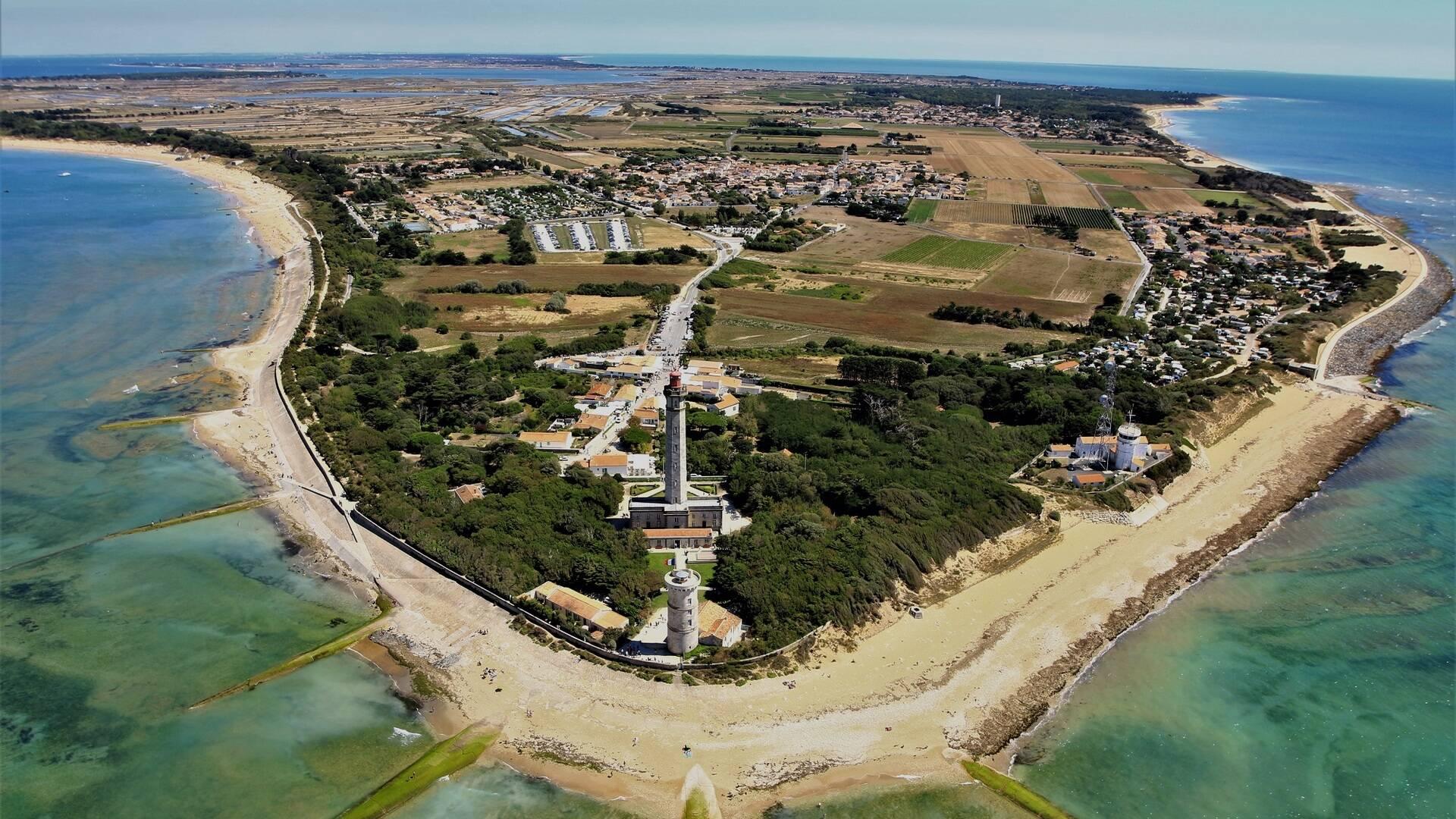 Vue aérienne de l'île de Ré - ©Philippe Laplace