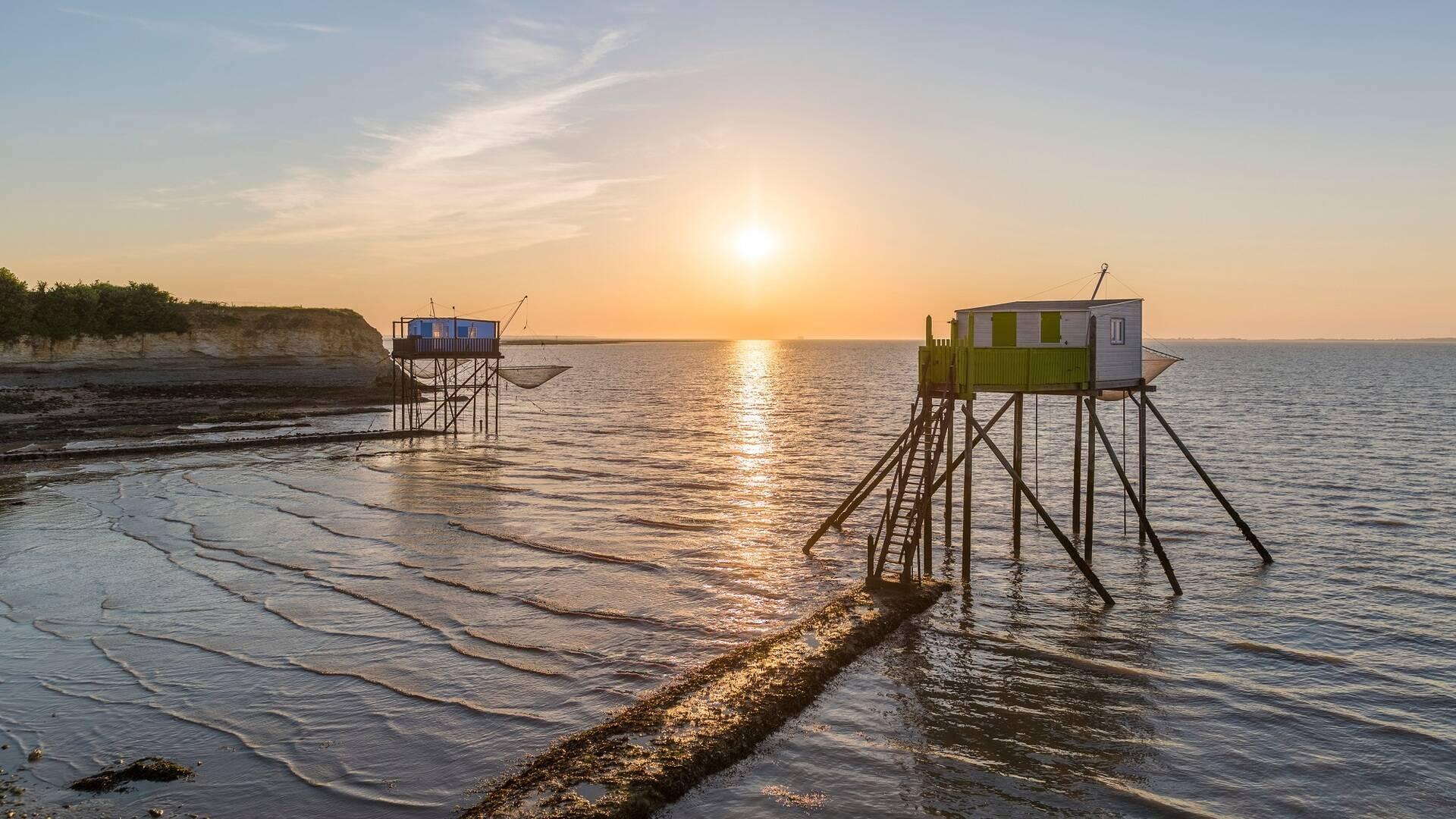 Coucher de soleil sur l'île Madame - ©Shutterstock