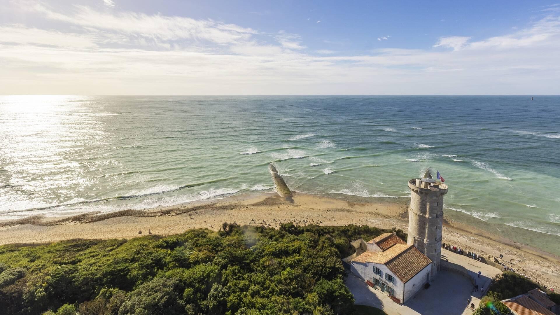 Vue depuis le phare des Baleines - ©Shutterstock