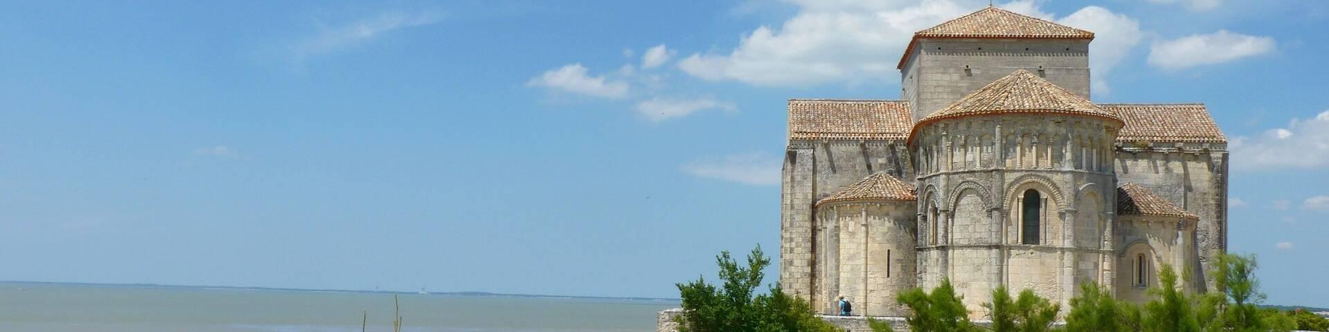L'église Sainte-Radagonde de Talmont - ©P.Migaud / FDHPA17