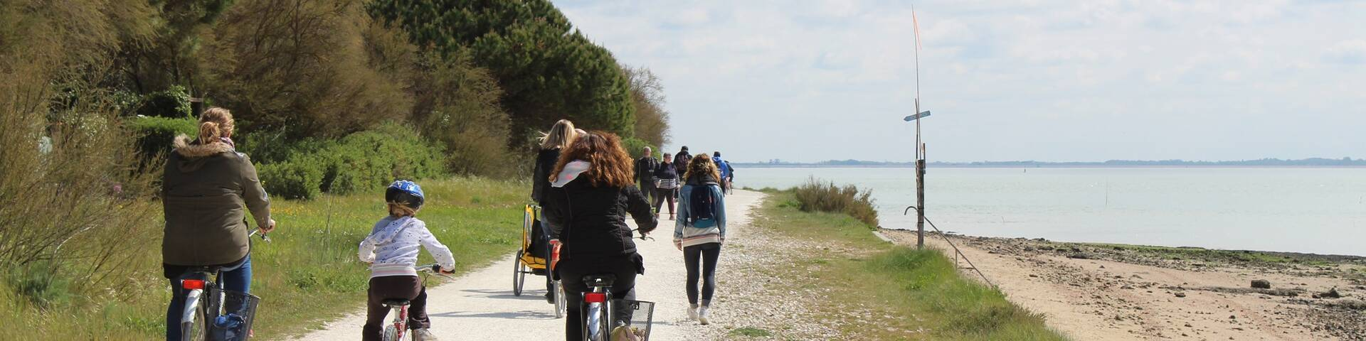 Tour en vélo sur l'île d'Aix