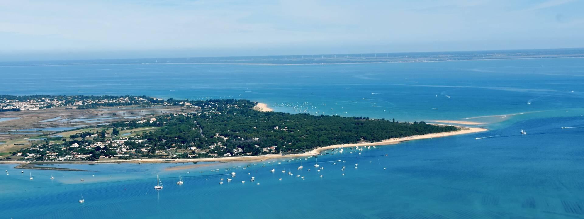 vue aérienne de l'île de Ré © FDHPA 17