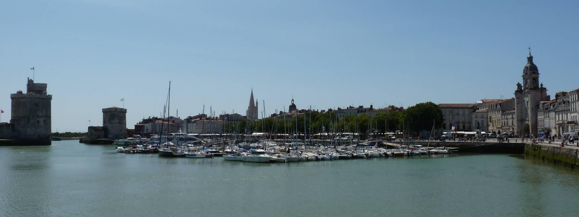 Les tours de La Rochelle / ©FDHPA 17