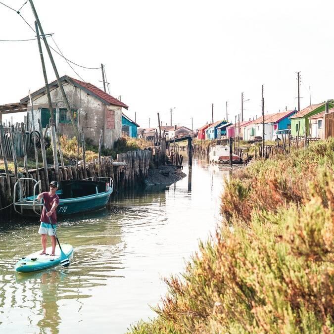 Paddle sur l'île d'Oléron - ©Hugo Guias