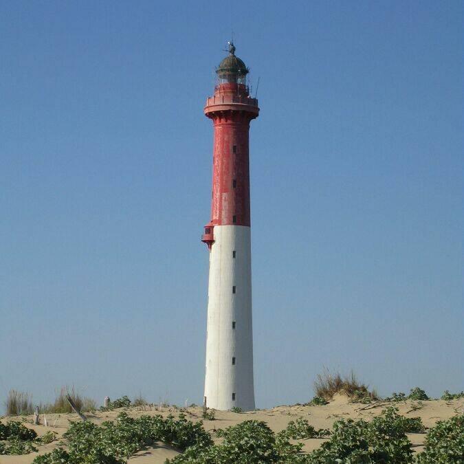 Le phare de la Coubre sur la côte Sauvage © Stéphane MORAND / CMT