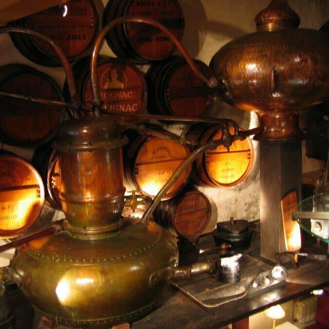 Distillerie de cognac - ©B.Desmier / Charentes Tourisme