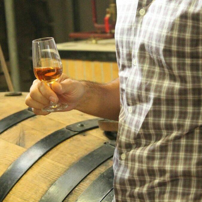 Dégustation de cognac - S.Nadouce / Charentes Tourisme