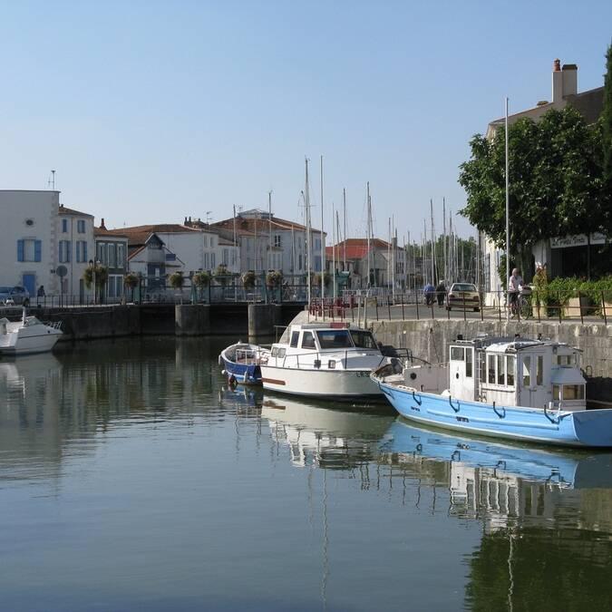 Port de Plaisance de Marans - ©A.Boissard / Charentes Tourisme