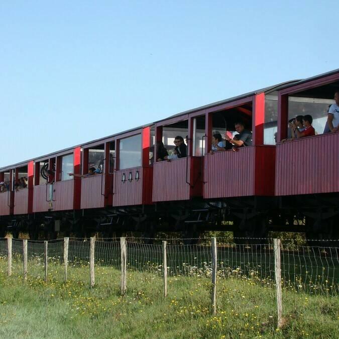 Le train des mouettes - ©ADT Charentes Tourisme