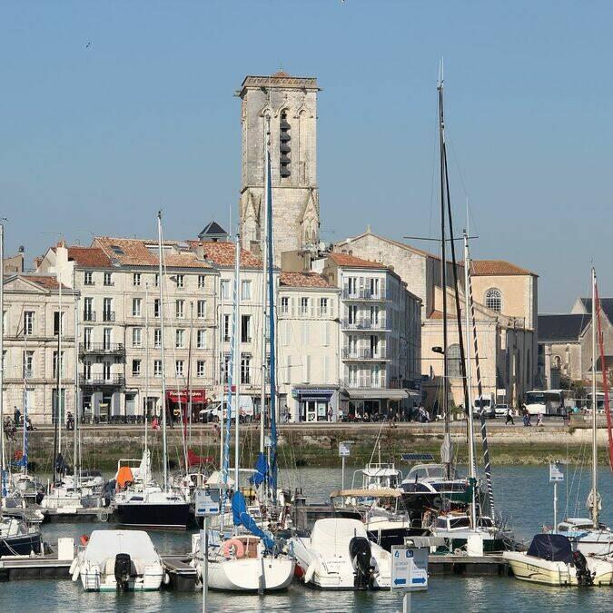 Le quai Duperré à La Rochelle  © Perrine BELIN / CMT