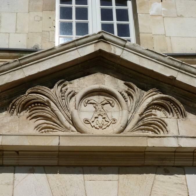 Détail de la façade de la Corderie royale - ©FDHPA17