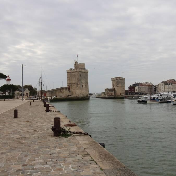 Le Vieux-Port de La Rochelle entièrement réhabilité - ©P.Migaud / FDHPA 17