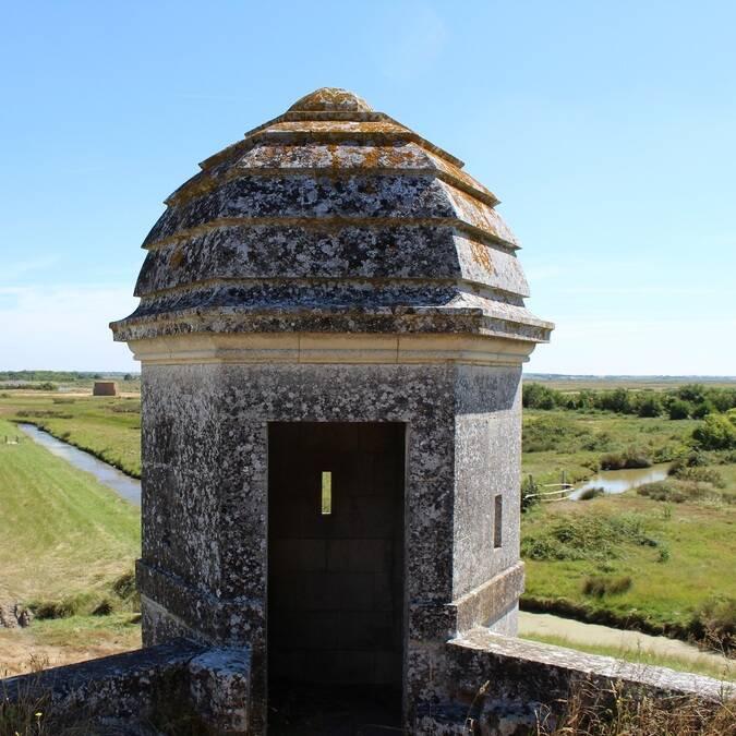 Échauguette de la citadelle de Brouage - ©P.Migaud / FDHPA17