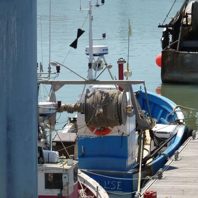 Bateau au port de la Cotinière - ©P.Migaud / FDHPA17
