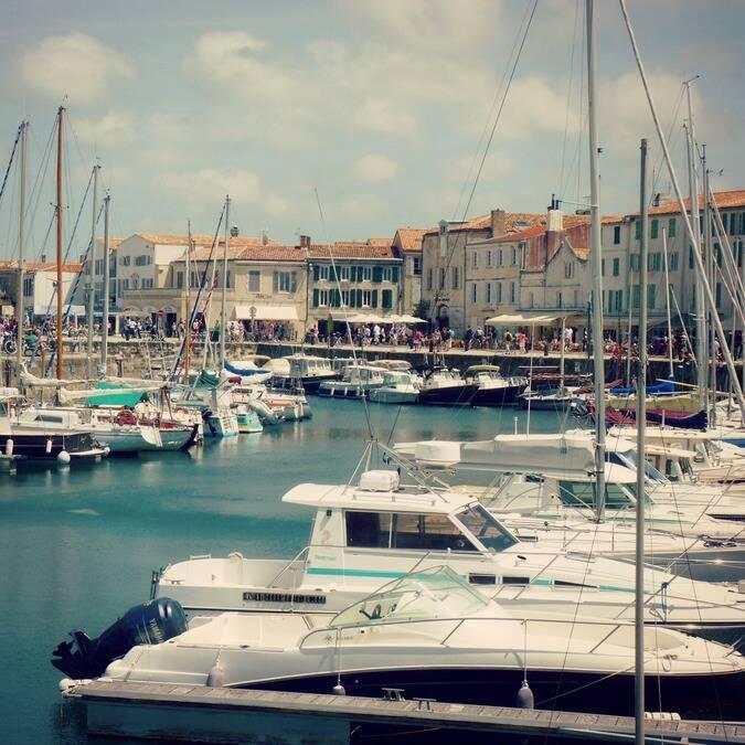 Le port de Saint-Martin-de-Ré © FDHPA 17