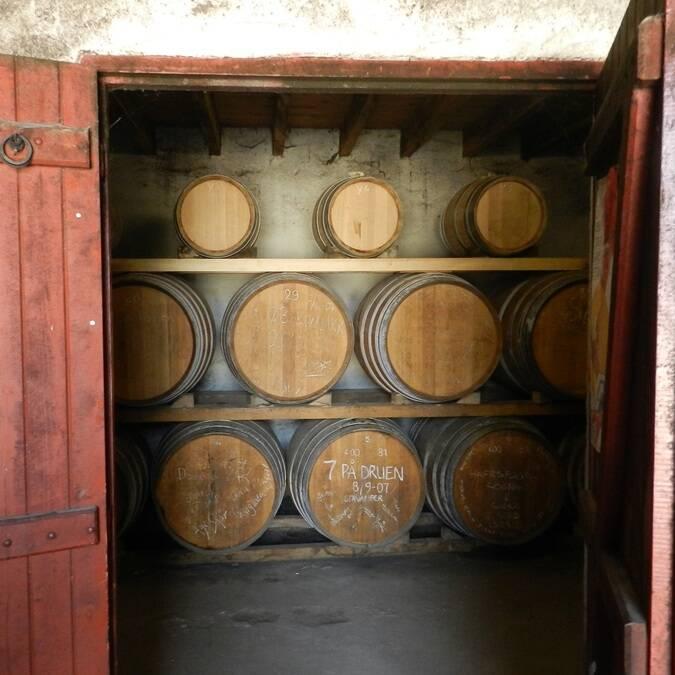 Impossible de passer à travers la visite d'un chai à Cognac - ©Charente Tourisme