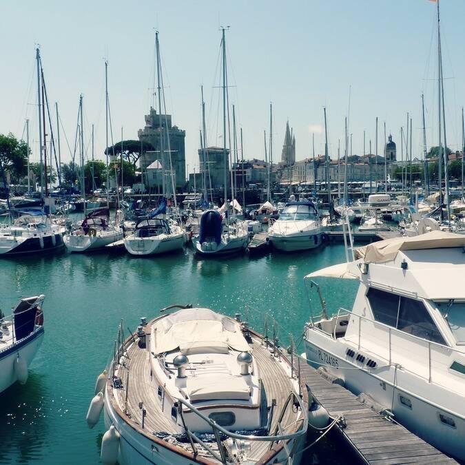 Le Vieux Port de La Rochelle - ©P.Migaud / FDHPA 17